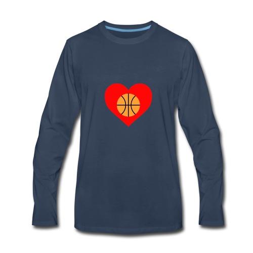 ballheartdesign - Men's Premium Long Sleeve T-Shirt