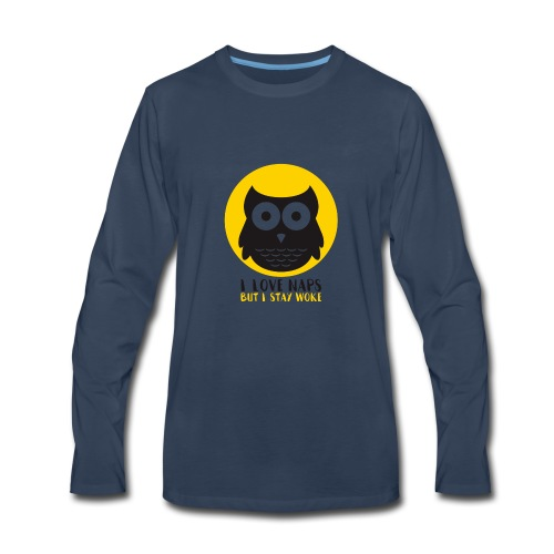 I Love Naps - Men's Premium Long Sleeve T-Shirt