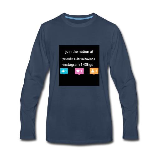 first shirt - Men's Premium Long Sleeve T-Shirt