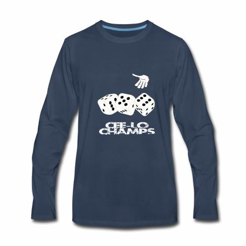 GrimeyToof Cee-lo Champs - Men's Premium Long Sleeve T-Shirt