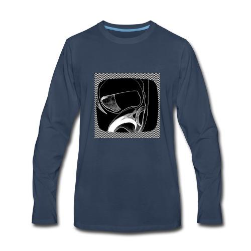 Moon Man in the Tube - Men's Premium Long Sleeve T-Shirt