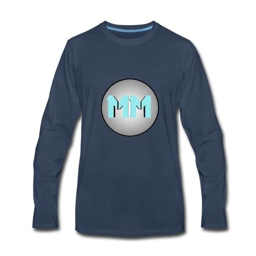 Maya Modeler logo - Men's Premium Long Sleeve T-Shirt