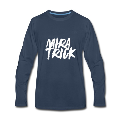 Mira Trick Logo - Men's Premium Long Sleeve T-Shirt