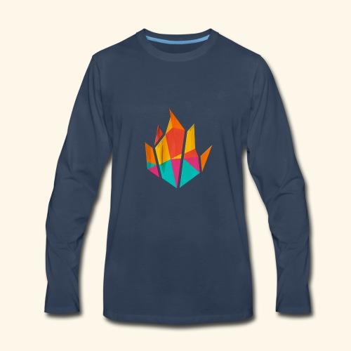 Modern Fire - Men's Premium Long Sleeve T-Shirt