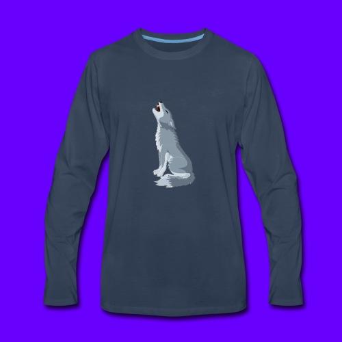 wolfee - Men's Premium Long Sleeve T-Shirt