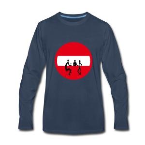 No entry pub - Men's Premium Long Sleeve T-Shirt
