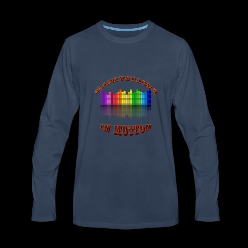 Marky Stacks In Motion - Men's Premium Long Sleeve T-Shirt