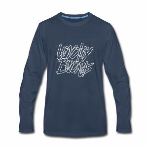 Loyalty Boards White Font - Men's Premium Long Sleeve T-Shirt