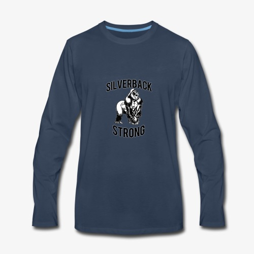 Basic Silverback Strong - Men's Premium Long Sleeve T-Shirt