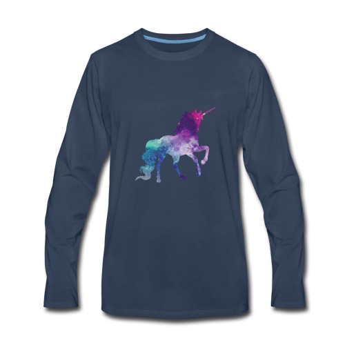 Unicorn for Days - Men's Premium Long Sleeve T-Shirt