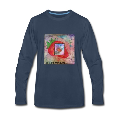 strawberry - Men's Premium Long Sleeve T-Shirt