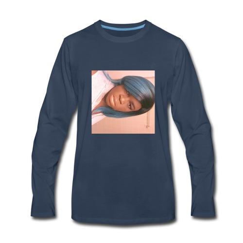 Pouting girl - Men's Premium Long Sleeve T-Shirt
