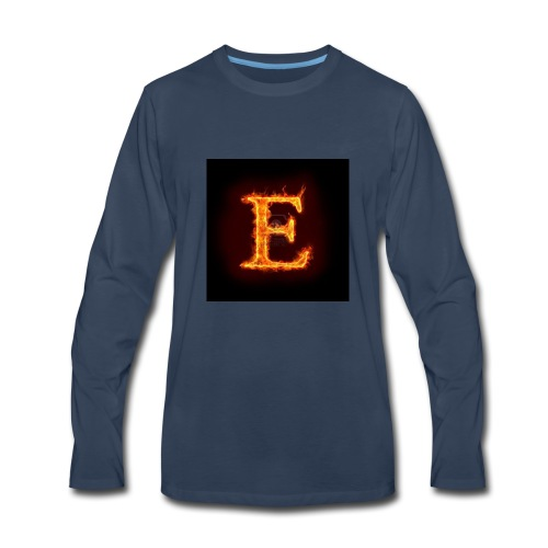 E shirt - Men's Premium Long Sleeve T-Shirt