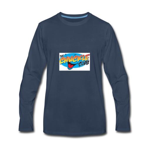 ORIGINAL CHUCKLE CHEESE - Men's Premium Long Sleeve T-Shirt