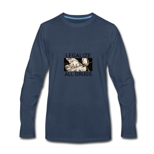 Legalize drugs - Men's Premium Long Sleeve T-Shirt