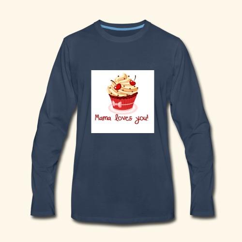 mamalovesyou - Men's Premium Long Sleeve T-Shirt