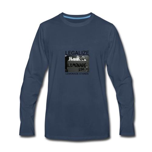Legalize lemonade stands - Men's Premium Long Sleeve T-Shirt