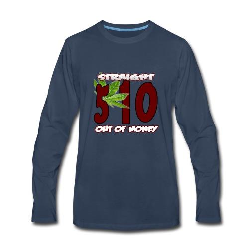 510 Area Code - Men's Premium Long Sleeve T-Shirt