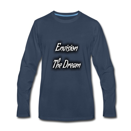 TextArt 4096x4096 - Men's Premium Long Sleeve T-Shirt