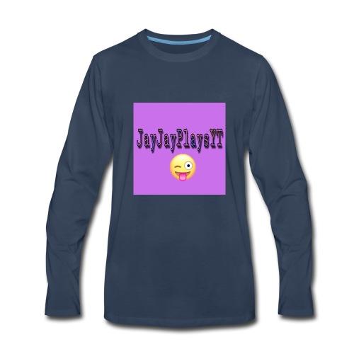 JayJayPlaysYT Shirts! Purple Glaze - Men's Premium Long Sleeve T-Shirt