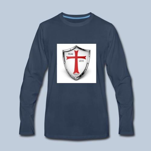 fear less 4 - Men's Premium Long Sleeve T-Shirt