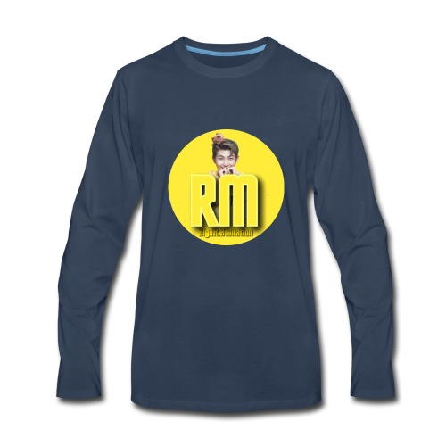 My BTS Instagram account - Men's Premium Long Sleeve T-Shirt
