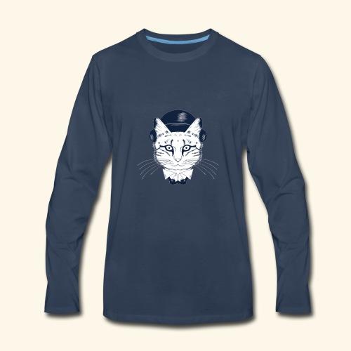 oie transparent 17 - Men's Premium Long Sleeve T-Shirt