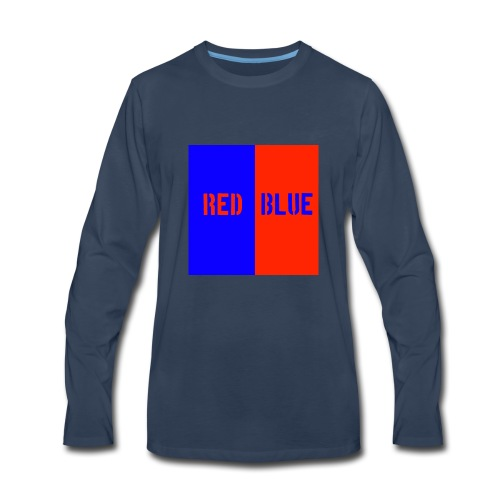 Red Blue Classic - Men's Premium Long Sleeve T-Shirt