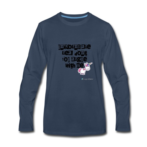 Unolicorns - Men's Premium Long Sleeve T-Shirt