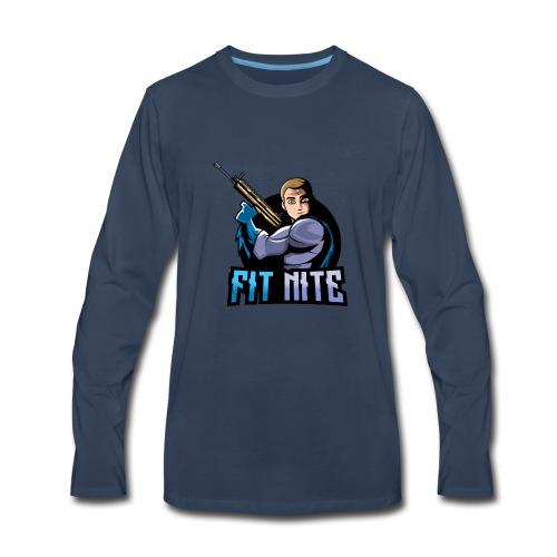 Fit Nite Apparel - Men's Premium Long Sleeve T-Shirt
