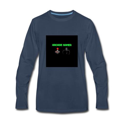 ARCADE GAMER T-SHIRT - Men's Premium Long Sleeve T-Shirt