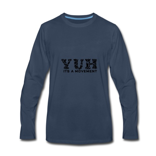 YUH - Its Time - Men's Premium Long Sleeve T-Shirt