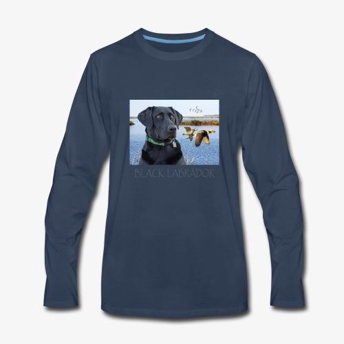 BLACK LABRADOR - Men's Premium Long Sleeve T-Shirt