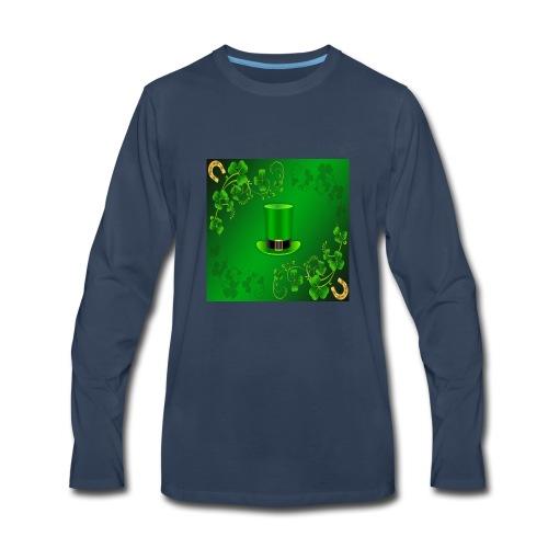 leprechaun shirt - Men's Premium Long Sleeve T-Shirt