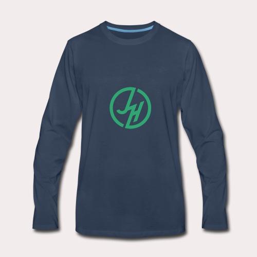 my john hudson logo - Men's Premium Long Sleeve T-Shirt