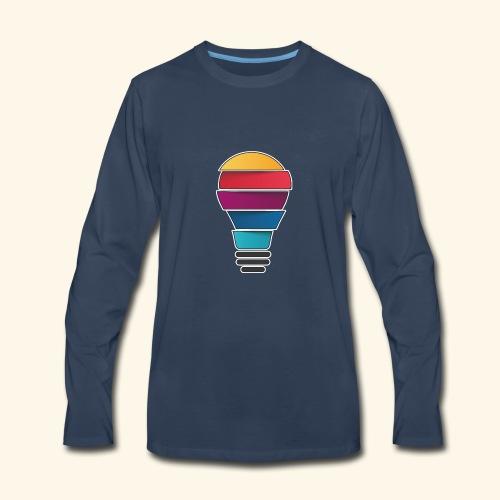 Creativity does not end - Men's Premium Long Sleeve T-Shirt