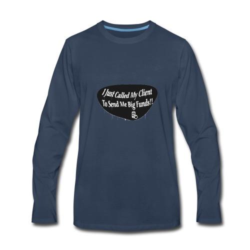 Too hundred designs - Men's Premium Long Sleeve T-Shirt