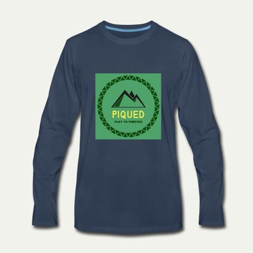Piqued - Men's Premium Long Sleeve T-Shirt