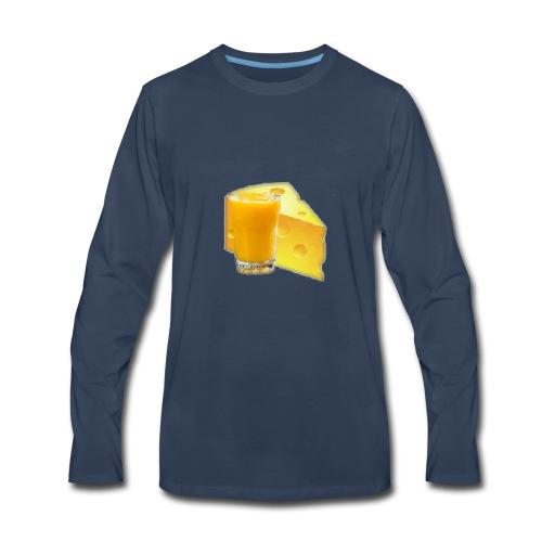 60 SUBS MERCH - Men's Premium Long Sleeve T-Shirt