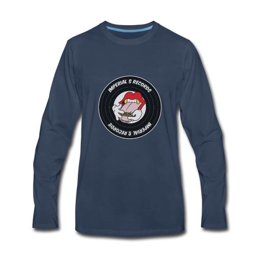 Imperial S Records logo - Men's Premium Long Sleeve T-Shirt