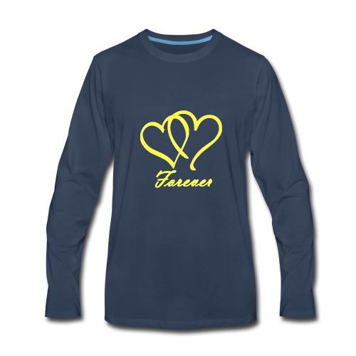 Love Forever - Men's Premium Long Sleeve T-Shirt