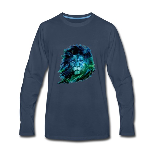 Cool lion - Men's Premium Long Sleeve T-Shirt