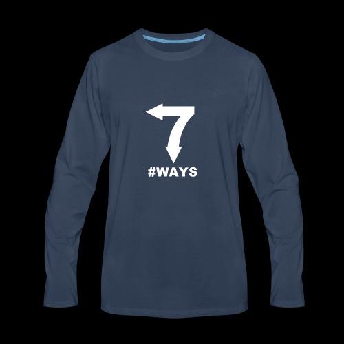 7 ways - Men's Premium Long Sleeve T-Shirt