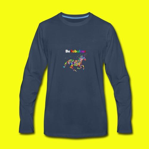 Fabulous unicorn perfect gift idea - Men's Premium Long Sleeve T-Shirt
