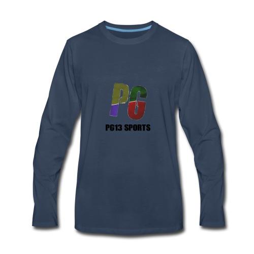 YouTube Merch Logo 2 - Men's Premium Long Sleeve T-Shirt