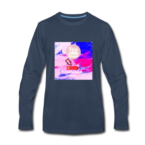 are youtube channel - Men's Premium Long Sleeve T-Shirt