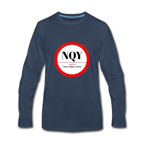 Not Quite Yet classic Canada design - Men's Premium Long Sleeve T-Shirt