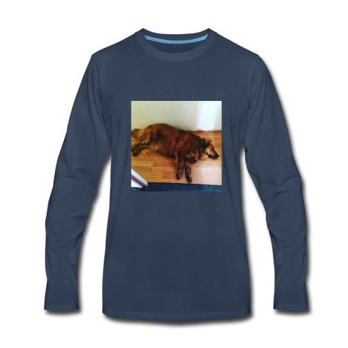 J gymnastics dog Minerva - Men's Premium Long Sleeve T-Shirt