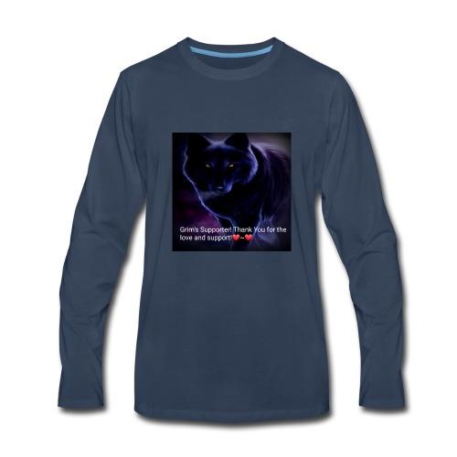 Grim's Supporter! ❤~❤ - Men's Premium Long Sleeve T-Shirt