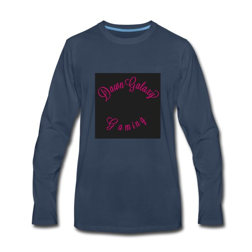 Dawn Galaxy Name logo - Men's Premium Long Sleeve T-Shirt